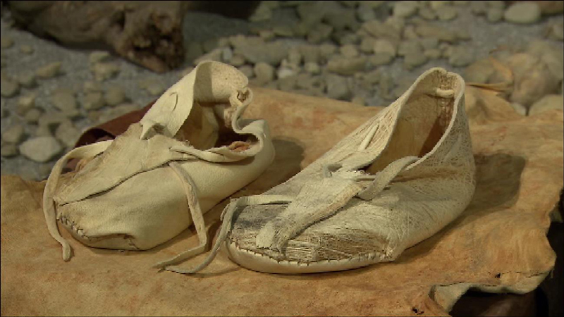 Eiszeitliche Schuhe