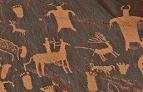 Steinzeit Wandmalerei