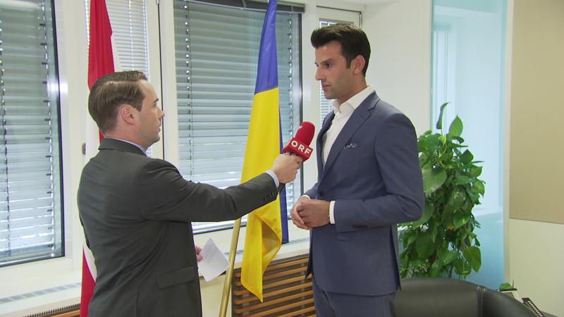 Udo Landbauer im Interview mit Gernot Rohrhofer