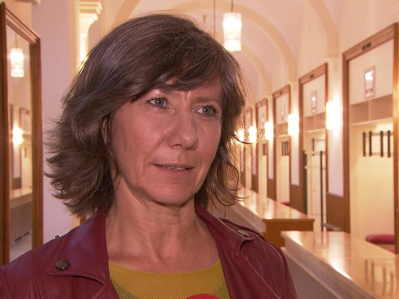 die designierte Wiener Vizebürgermeisterin Birgit Hebein (Grüne)