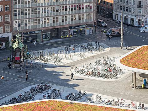 COBE und Gottlieb Paludan Architects: Nørreport Station, Kopenhagen/Dänemark, 2015