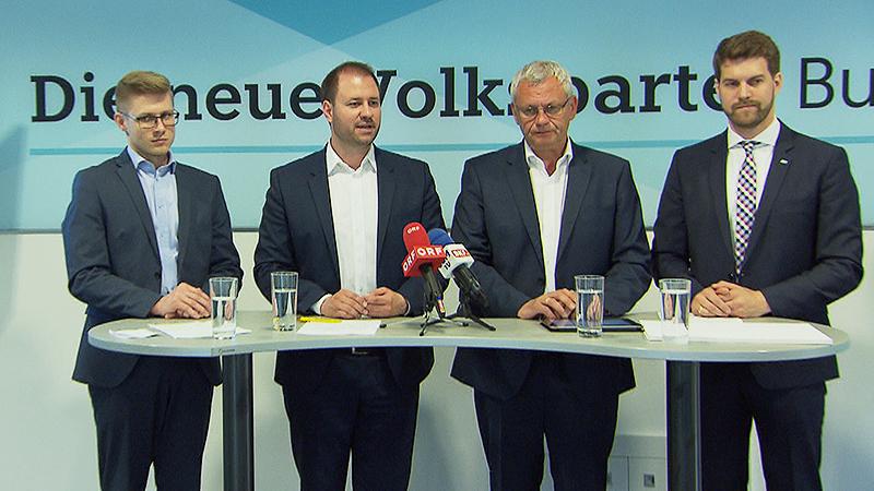 Patrik Fazekas, Christian Sagartz, Thomas Steiner, Christoph Wolf