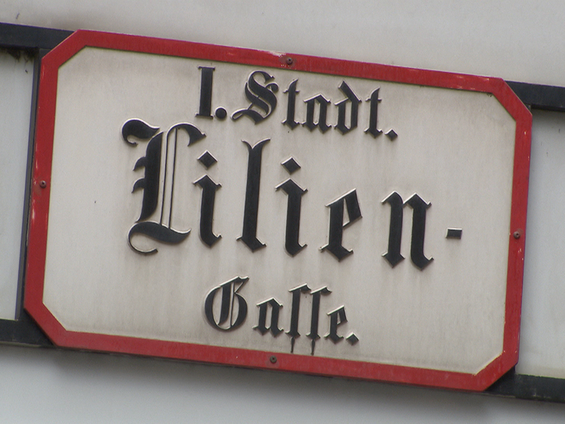Hausnummern in Wien
