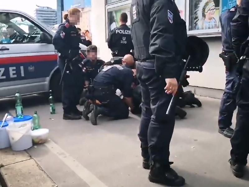 Mutmaßliche Polizeigewalt bei Einsatz