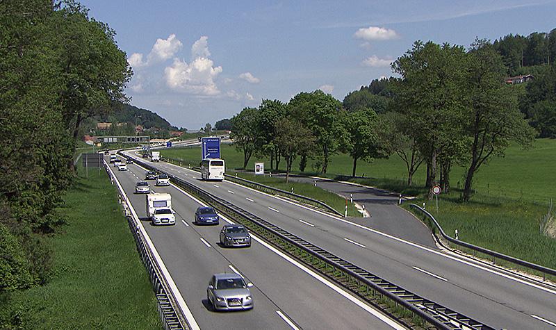 Autobahn A8 Ausbau