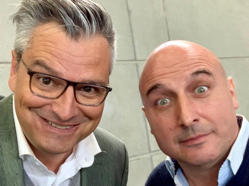 Dorian Steidl und Christoph Fälbl