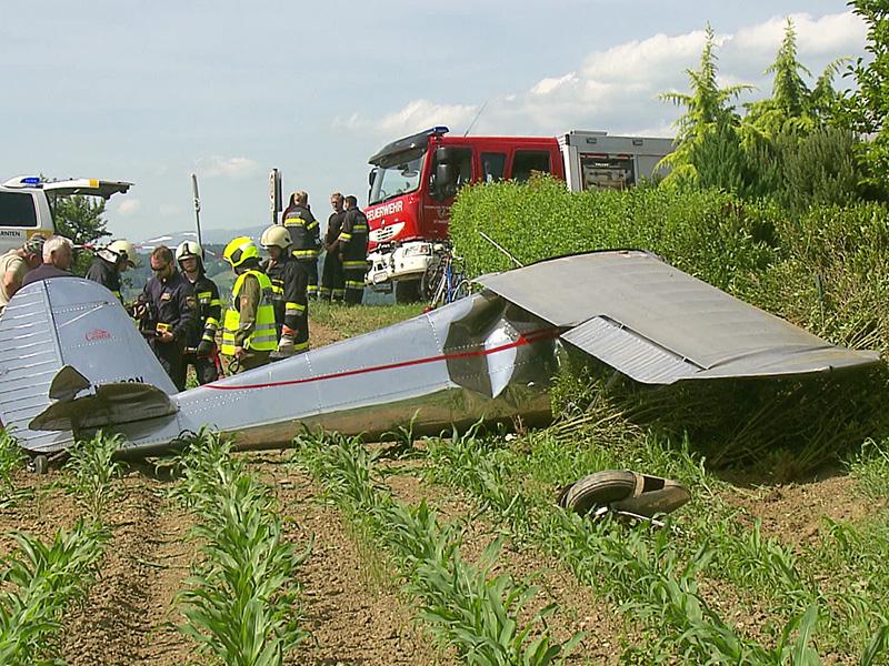 Flugzeugabsturz Cessna Wolfsberg