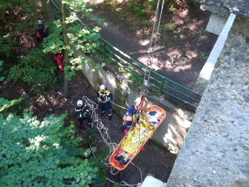 Feuerwehr Höhenstraße Rettungsmaßnahmen