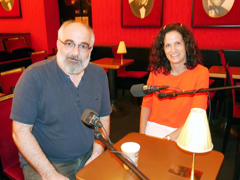 Michael Niavarani und Alice Herzog