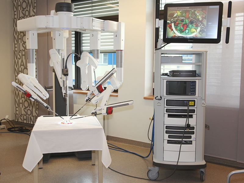 Roboter Chirurgie Kompetenzzentrum Landesklinikum Wiener Neustadt