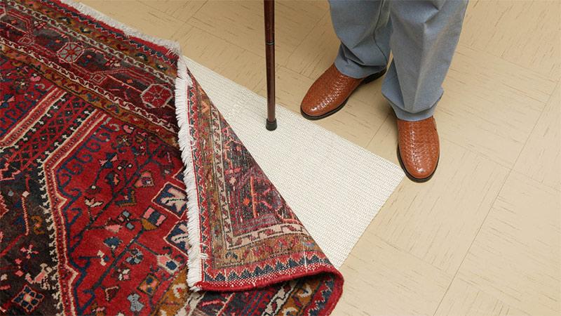 Stolperfalle Teppich Senioren